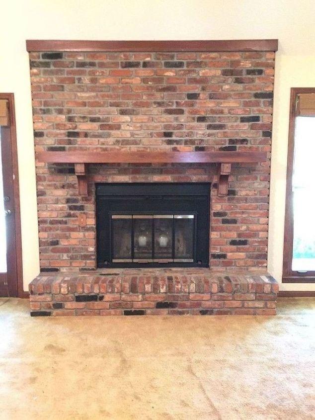 Fireplace Remodel DIY (Angela Hodges Lloyd)