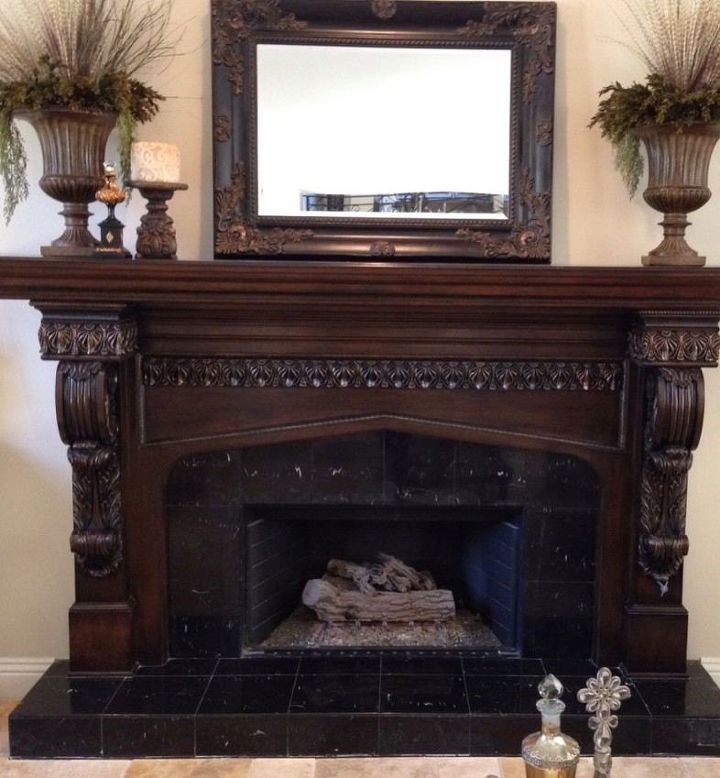 How to Paint a Fireplace (Craftsman Finishes)
