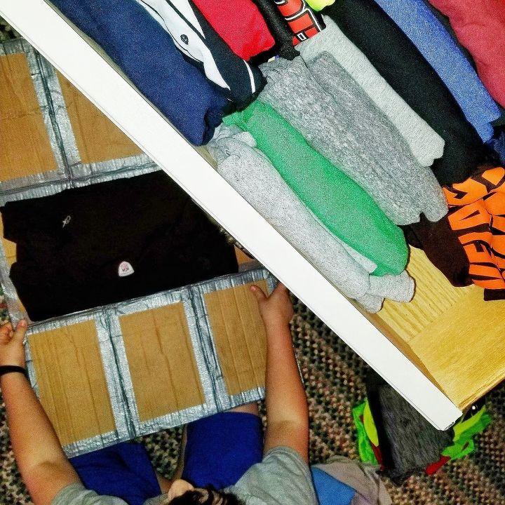 shirt folding tool konmarie style