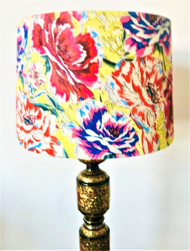 How to Decoupage and transform a Lampshade