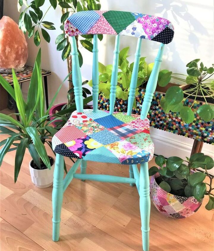 Country Cottage decoupage chair