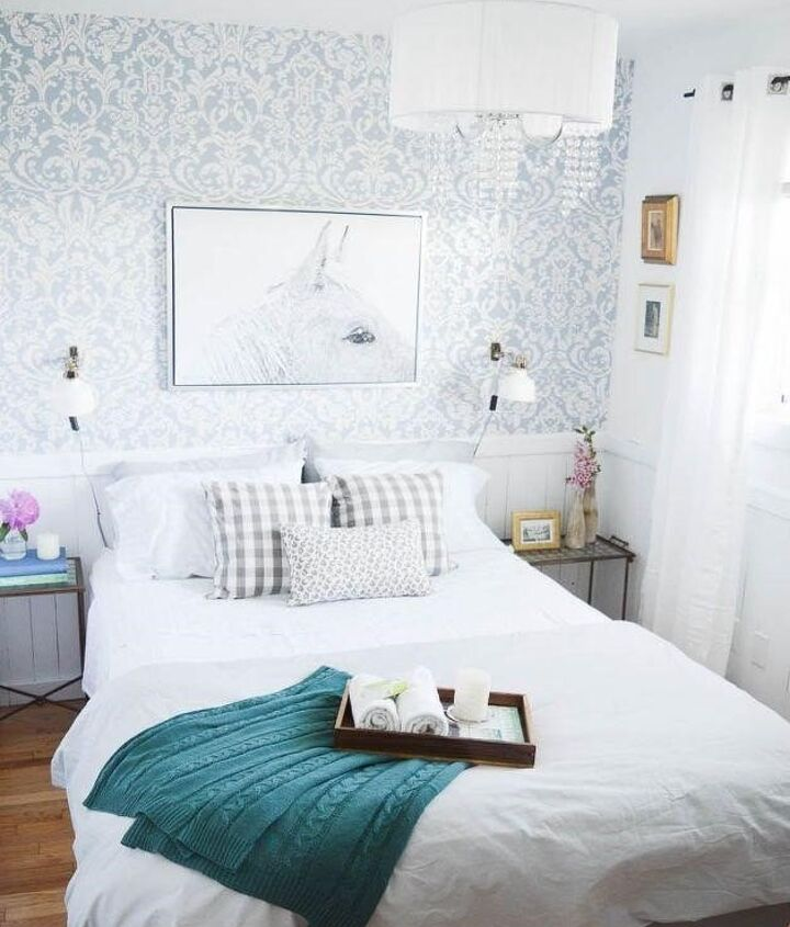 Bedroom Wallpaper Ideas (DIY Passion)