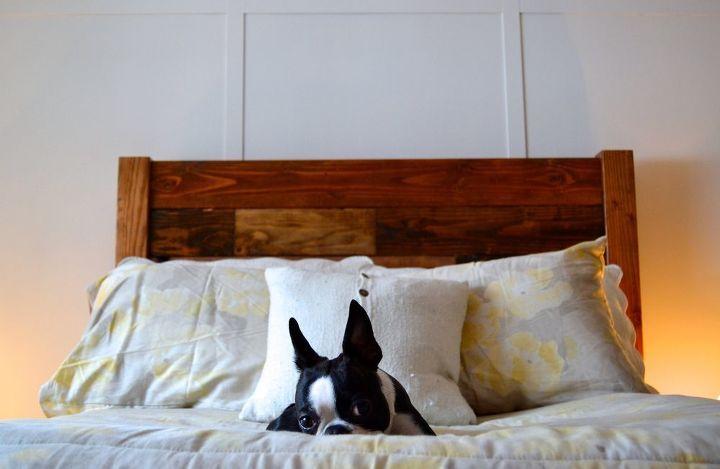 Reclaimed Wood Headboard (Brock Berglund)