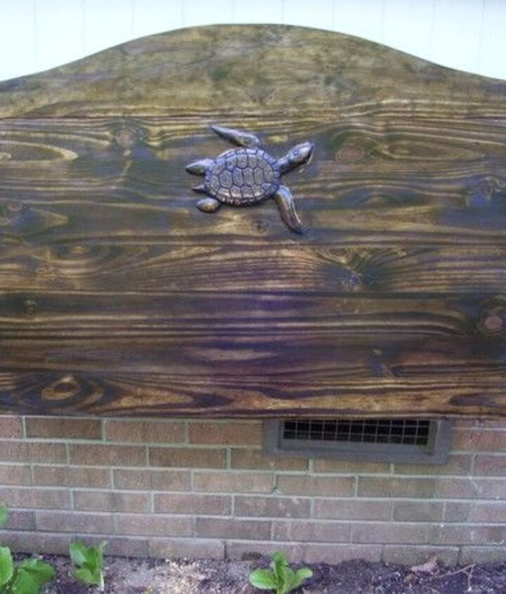 Carved Wood Headboard (Sarah Brown)