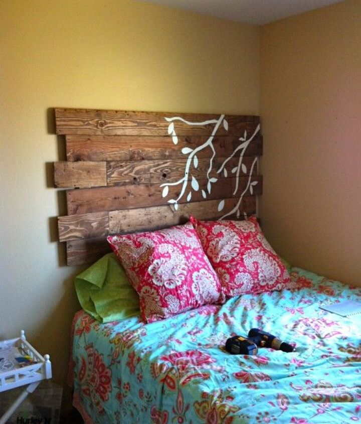 Wood and Upholstered Headboard (Kelsey McGinley)