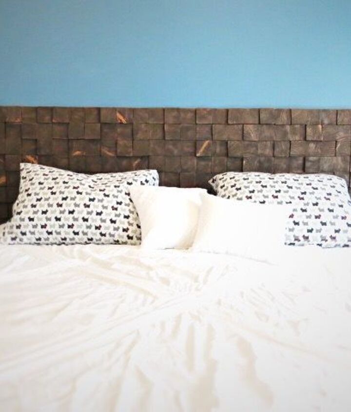How to Make a Headboard out of Wood (Becky at Flipping the Flip)