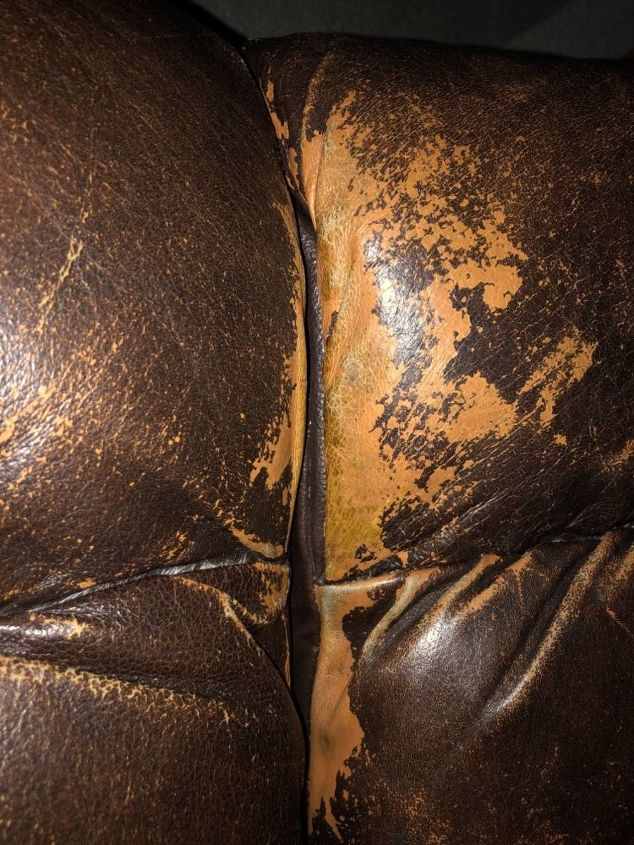 q is there anything i can put on my leather couches for weathering