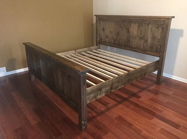 farmhouse bedroom set the bed