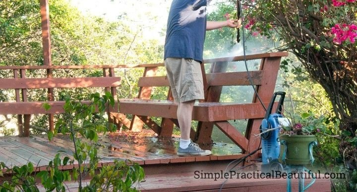 Deck Cleaning and Staining (SimplePracticalBeautiful)