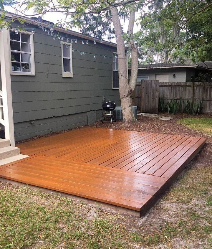 Deck Stain Colors (Diane and Dean DIY)