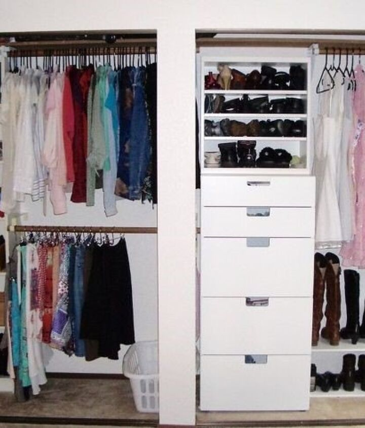 Ikea Closet Organizer Ideas (Single Girl's DIY)