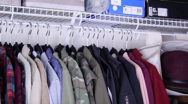 Hanging Closet Organizer (Nikki Egdamin)