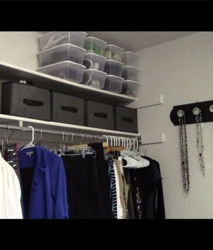 Closet Shoe Organizer (Chas' Crazy Creations)