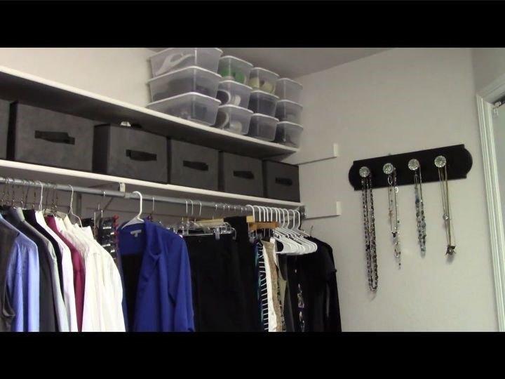 Closet Shoe Organizer (Chas' Crazy Creations)