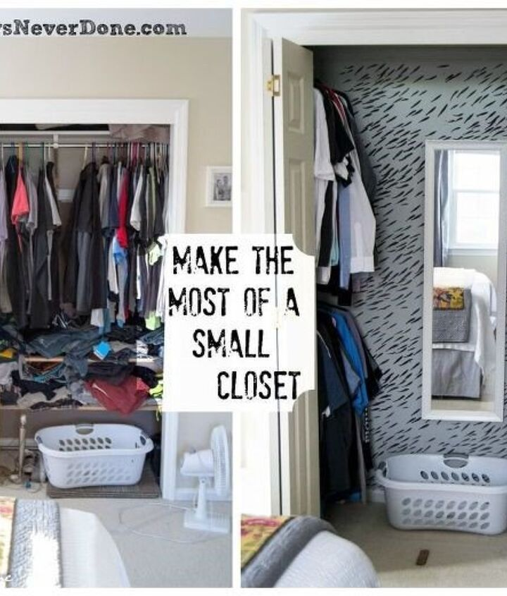 Small Closet Ideas (Amy)