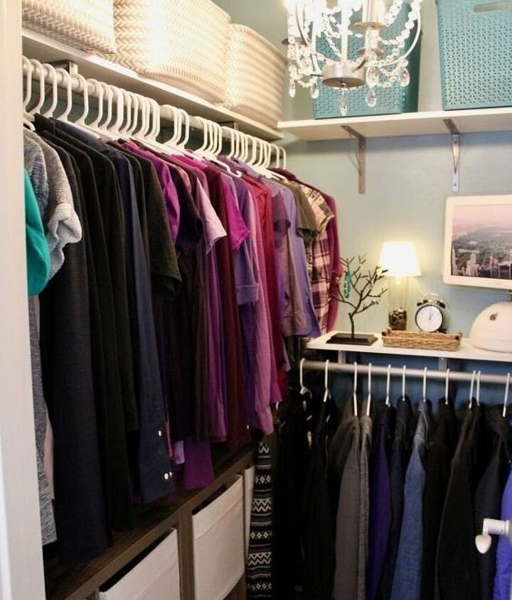 DIY Closet Organizer Ideas (Mother Daughter Projects)