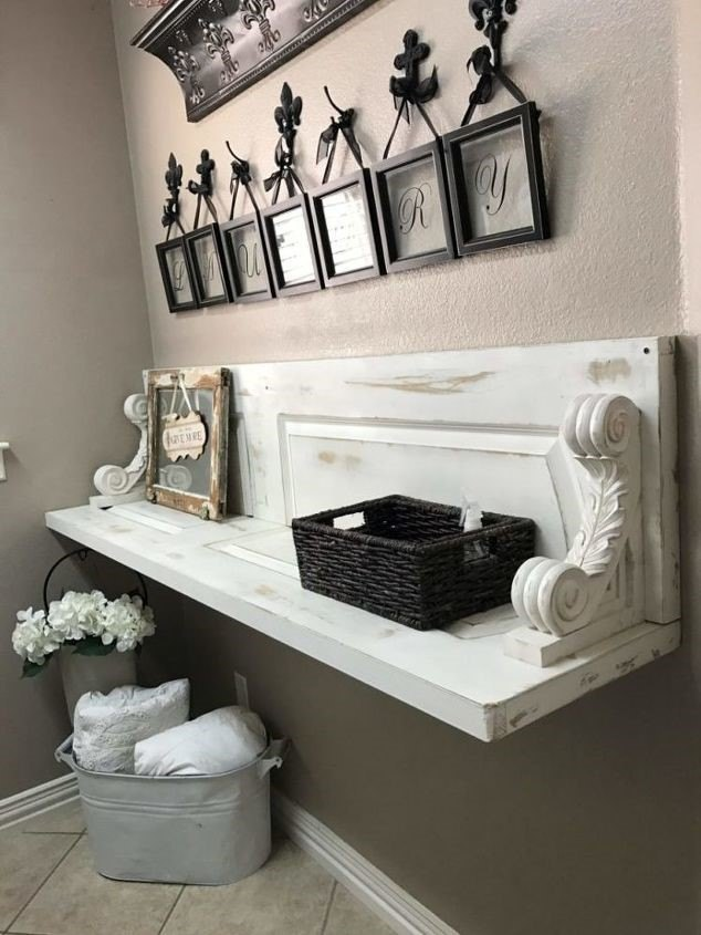 Laundry Room Shelving (Cindy Richter)