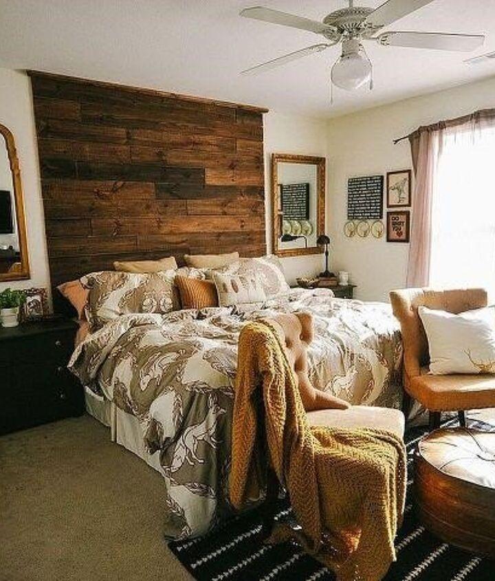 Rustic Bedroom Ideas (Lizmarieblog.com)