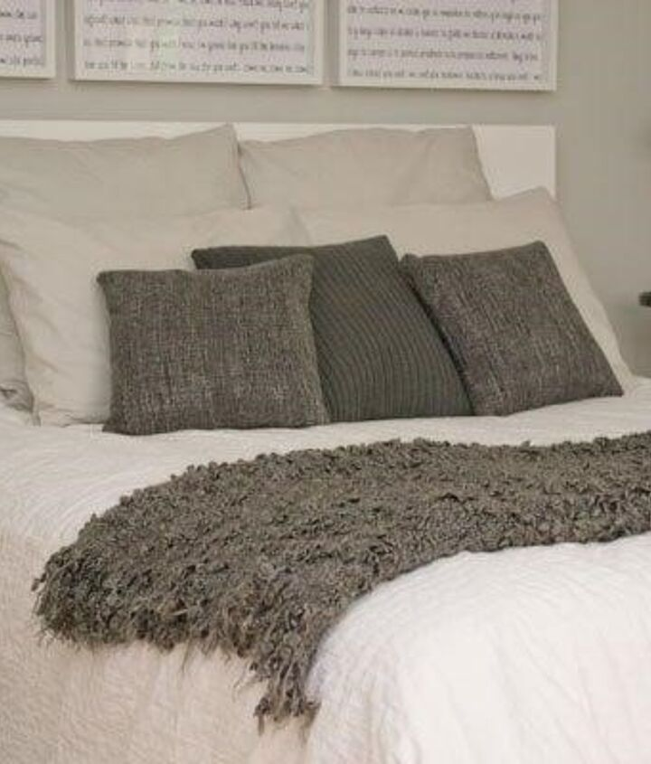 Master Bedroom Pillow Ideas (Anni | Whose Idea Was It To Buy This House)