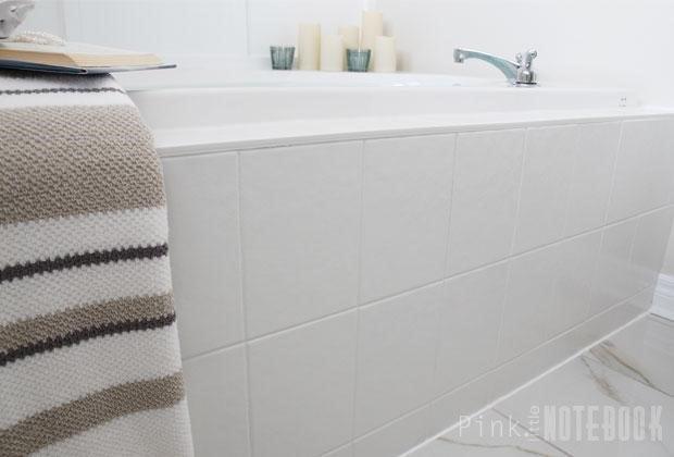Painted Bathroom Tile (Sabrina)