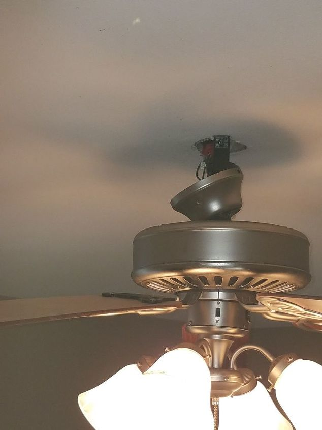 How Do I Attach The Canopy Piece Of A Ceiling Fan Hometalk