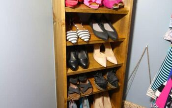 Custom Wooden Shoe & Handbag Storage