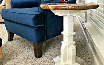 Easy $50 Round Top Side Table