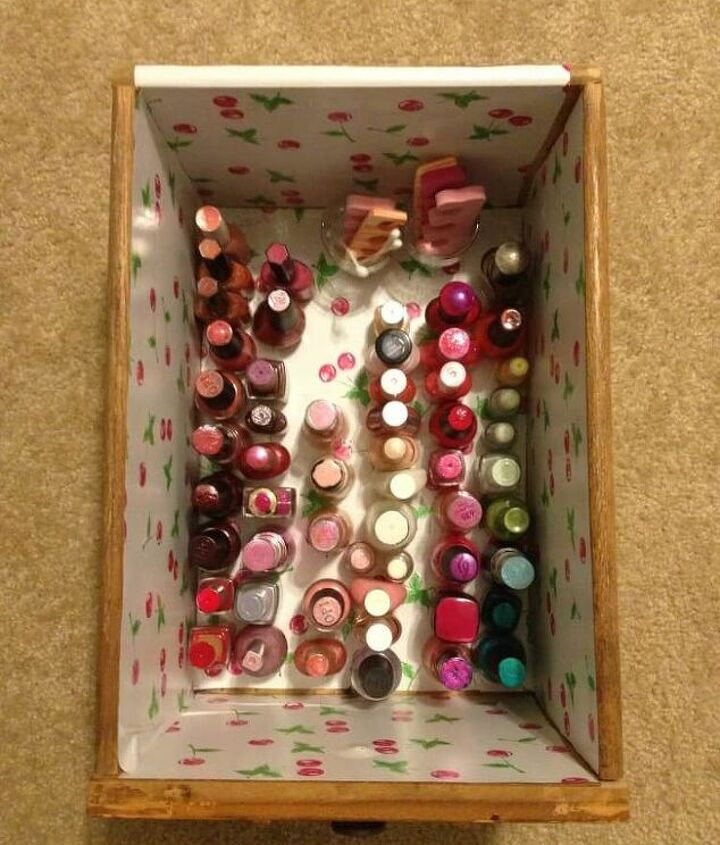 quick easy nail polish organization