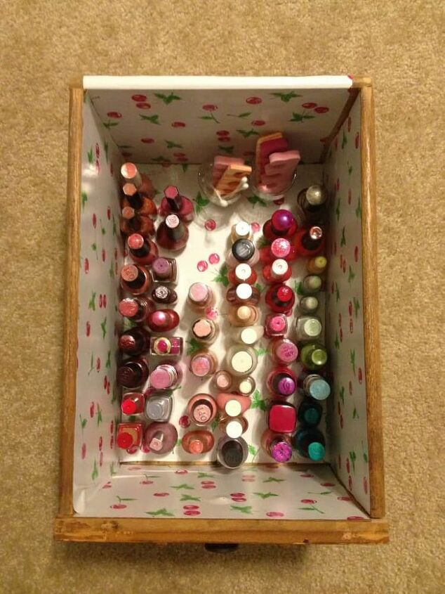 quick easy nail polish organization