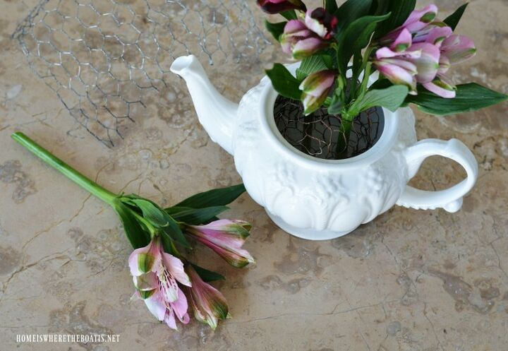 create a blooming valentine s tea party centerpiece