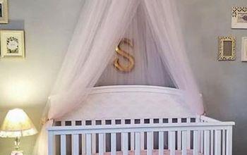 Princess Style Nursery on a Budget
