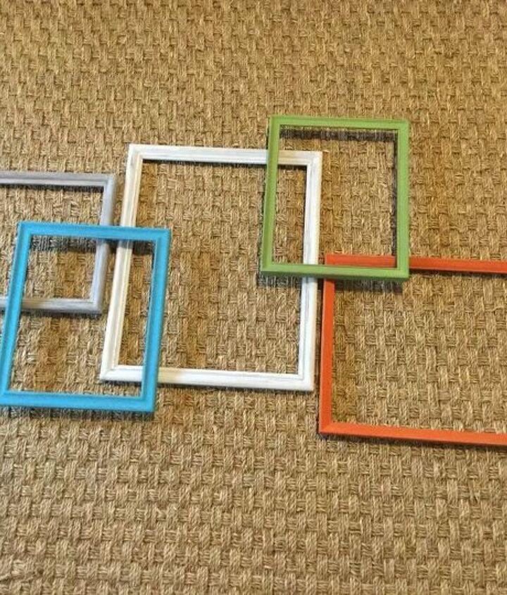 q ideas for repurposing old photo frames