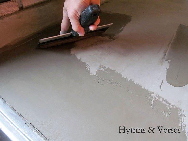 How to Make Concrete Countertops (Doreen Cagno)