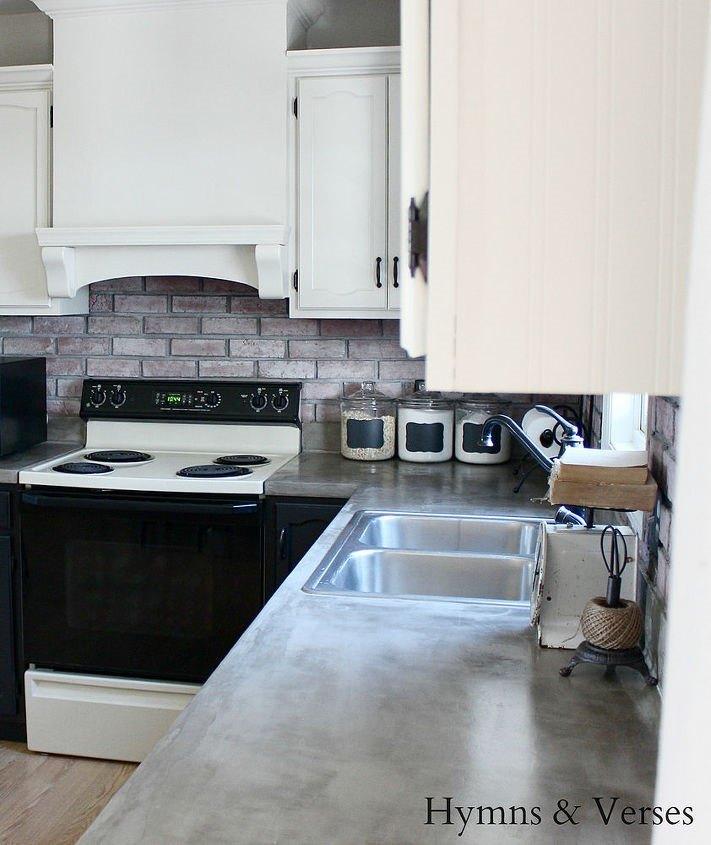 Concrete Kitchen Countertops (Doreen Cagno)