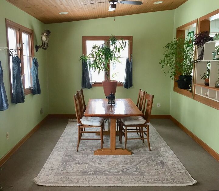 q tips to paint an unpainted beadboard wooden ceiling please help