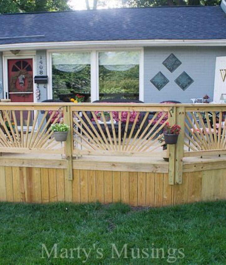 Wood Deck Railing Ideas (Marty's Musings)