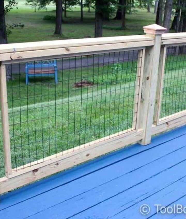 How to Build a Deck Railing (ToolBox Divas)