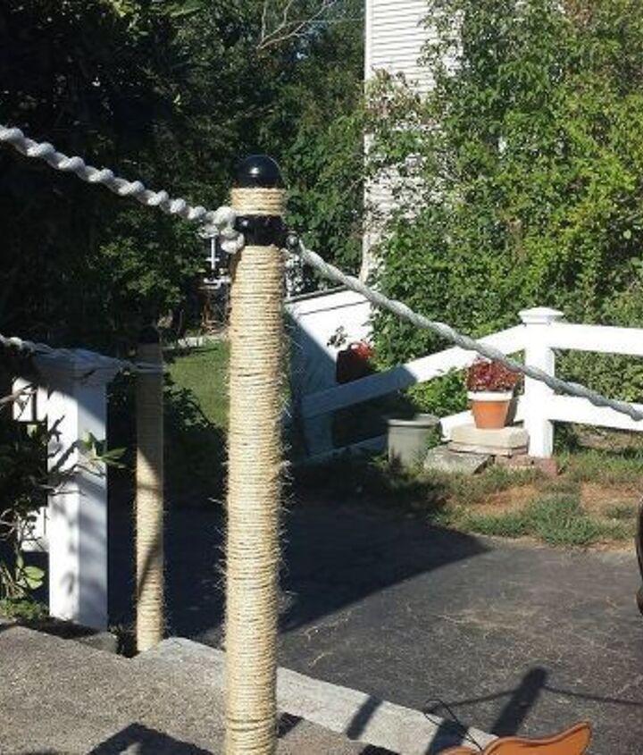 Rope Railing Ideas (Mindy)