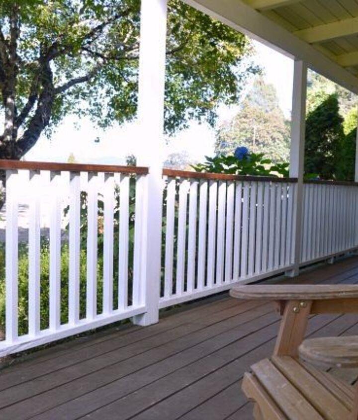 Makeover Railing Ideas (An Oregon Cottage)