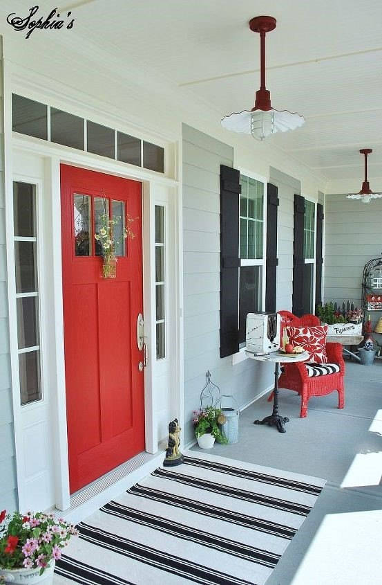 20 Budget Friendly Front Porch Ideas