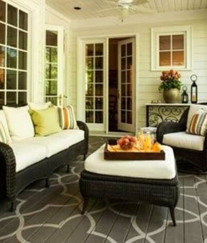 Front Porch Furniture (ThisOldHouse)