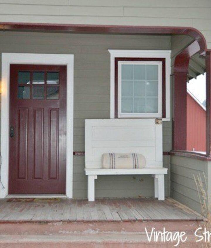 Front Porch Decorating Ideas(Judy Herbert Ainger at Vintage Street Designs)