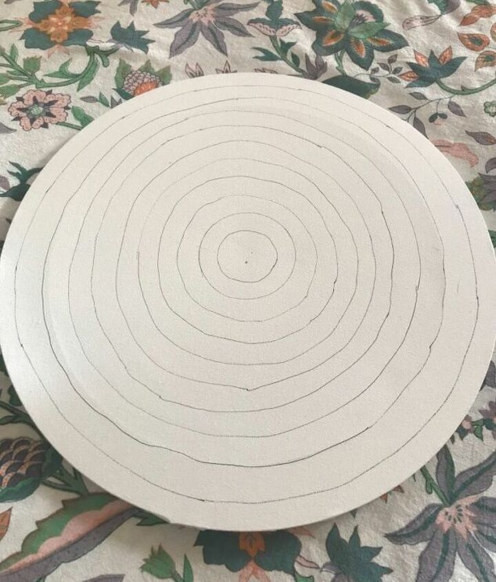 Canvas with rings ready to design