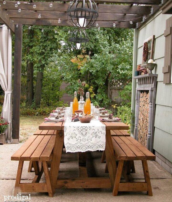 Backyard Pergola Ideas (Larissa ~ Prodigal Pieces)