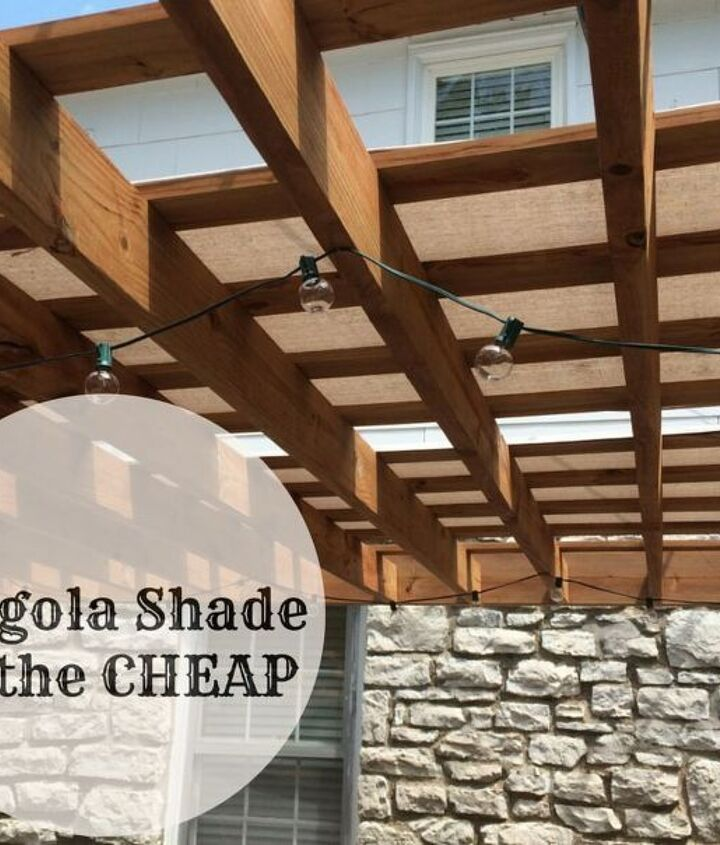 Pergola Canopy Ideas (Rescued Furnishings)