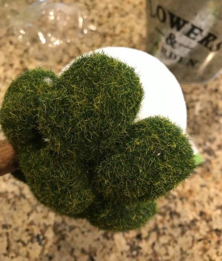 dollar store topiary