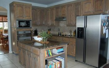 Refinished Oak Cabinets