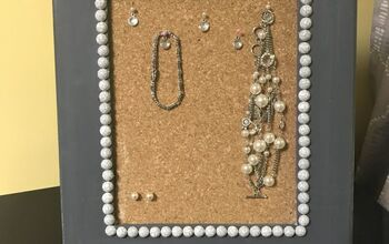 How to Make an Easy DIY Earring Organizer Picture Frame