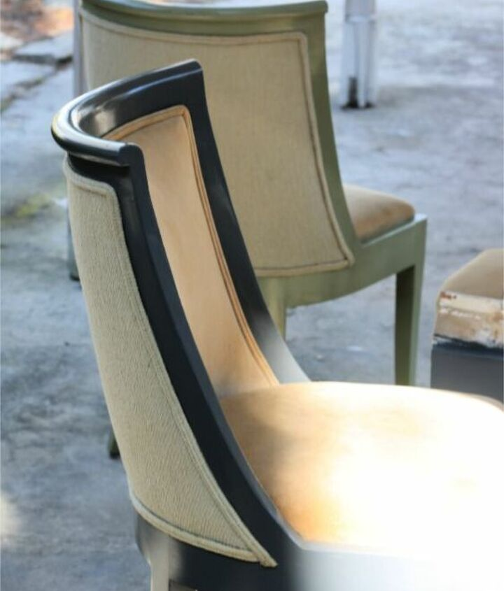 tips for painting dining chairs with oil paint