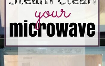 Steam Clean Your Microwave in Just 5 Minutes!